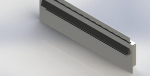 Ramped Pole Plate Magnet